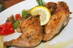wedding buffet food - Italian Roasted Chicken