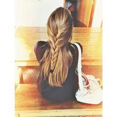 cute half braid