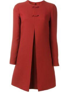 Achetez Valentino robe trapèze à détails de nœuds en O' from the world's best…