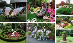 Αριστουργηματικές διακοσμήσεις κήπων