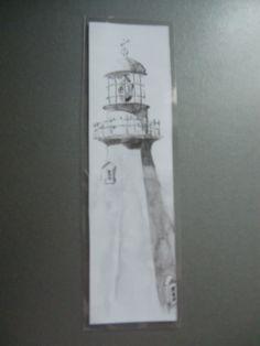 "Marque- pages ""phare"" : Marque-pages par lalouchic"