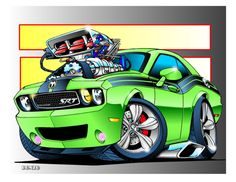Challenger_green_background_detail