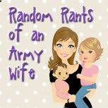 Blog - a mom and a wife, dealing with Docs mild TBI, a gift from deployment number 3 -- this is my FAVORITE blog to read and its great if youre a military wife/fiancee/girlfriend. check it out if you ever get the chance! when i discovered her blog, i went back to the first post because it was THAT GOOD! :)