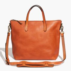Madewell Zip Transport Satchel Madewell Zip Transporter Tote.  Great condition.  Will post actual pictures. Madewell Bags Satchels