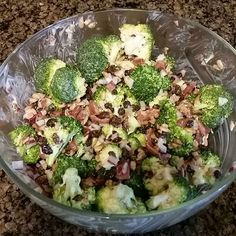 Phase 3 broccoli salad, might want to sub out the currants for oranges, but it's still amazing.