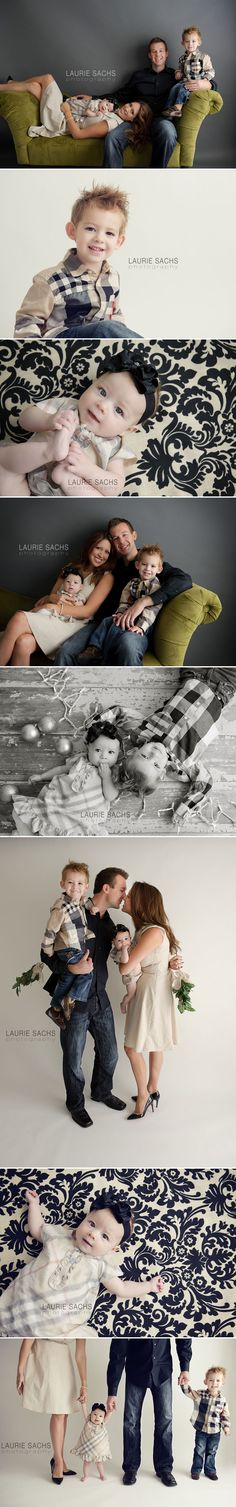 Adorable Family Photos -I like so much about this. This is a cute family, I like their attire, I like the settings & backdrops & angles and just cute!!