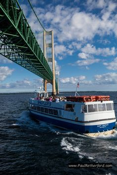 Sheplers Mackinac Island ferry bridge tour Mackinaw City St. Ignace Michigan Photography Are you ready for summer?  #puremichigan