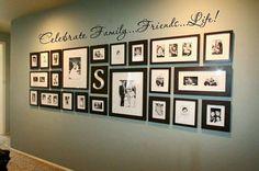 decorar-con-fotografias-familiares - Decoracion de interiores -interiorismo - Decoración - Decora tu casa Facil y Rapido, como un experto