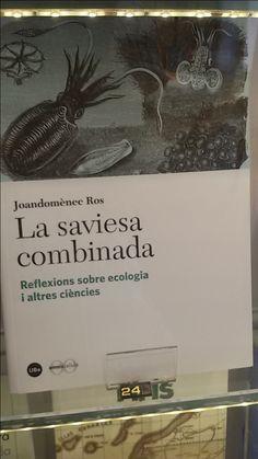 """La saviesa combinada"" de Joandomenec Ros. Edicions de la Universitat de Barcelona"