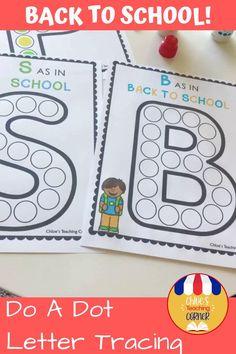 Preschool Phonics, Preschool Letters, Alphabet Activities, Preschool Activities, Free Alphabet Printables, Kid Printables, Tracing Letters, Back To School Crafts, Back To School Activities