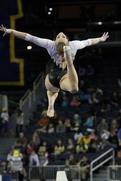 Utah Gymnastics at Michigan 2.17.12 women's gymnastics college gymnast #KyFun