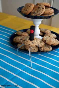 This one has the steps for making the cookie robot!   Despicable Me birthday party