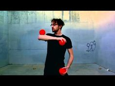 Dustin Hubel on youtube. I like where the ring manipulation/isolation work intersects with moves I see in hoop dancing.