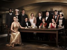 Cancelled and Renewed Shows Upstairs Downstairs cancelled by BBC - Series & TV Downton Abbey, Period Piece Movies, Vestido Art Deco, Jean Marsh, Art Deco Dress, The Ellen Show, Old Shows, Period Dramas, Vestidos