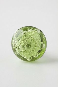 I finally found the knobs for the dresser I'm refinishing!! Yay!!   Bubbled Glass Knob - Anthropologie.com