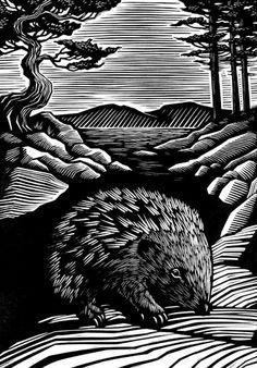 Vladimir Zimakov, Finnish landscape - Animalarium: Sunday Safari – Prickly & Sweet