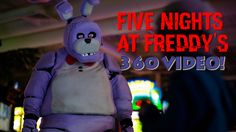 Five Night's At Freddy's in Real Life! 360 VIDEO - SCARY! - YouTube