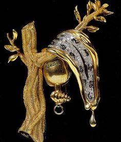Brooch by Salvador Dali.