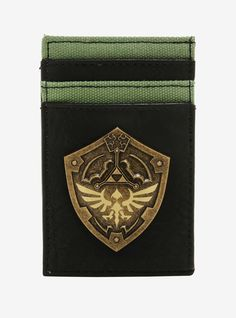 Nintendo The Legend Of Zelda Shield Cardholder - BoxLunch Exclusive 52070a9dfb2ef