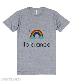Tolerance | Even though many of us may not be gay/lesbian/bisexual it is still important to tolerate those who are.  #Skreened