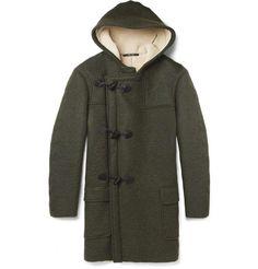 Maison Martin Margiela | Faux Shearling-Lined Duffle Coat #mens #maisonmartinmargiela #coat
