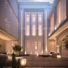 A new meaning for luxury , so where is that? And what's the reason behind that design ? Let's wait and see 5000 m plot soon by Sarah sadeq… Facade Design, Exterior Design, Classic House Exterior, Modern Villa Design, Architect House, Architect Logo, Famous Architects, Facade House, Farmhouse Design