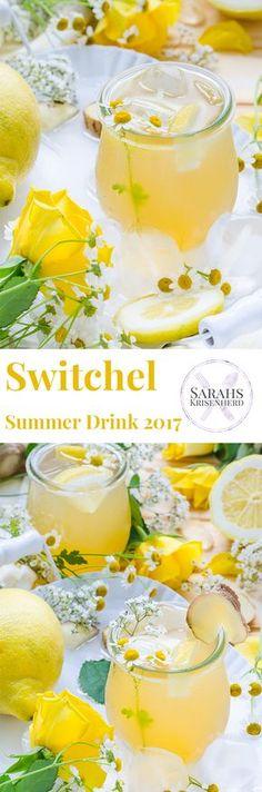 Switchel - der Sommer Drink 2017 - eine herrlich fruchtig-frische Abkühlung mit Ingwer, Apfelessig, Zitrone und etwas Süße!