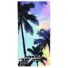 SoulCal Beach Towel ❤ liked on Polyvore featuring home, bed & bath, bath and beach towels