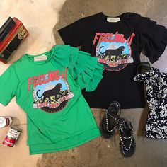 Remake Clothes, Sewing Clothes, Diy Clothes, Cute Fashion, Diy Fashion, Dress Makeover, T Shirt Diy, Junior Tops, Printed Shirts