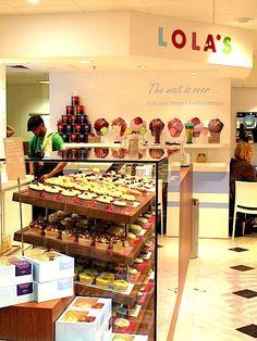 Lola Cupcakes at Selfridges
