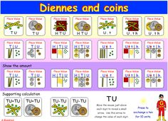 interactive for Dienes and coins