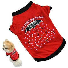 Yoyorule Summer Pet Puppy Small Dog Cat Pet Clothes Vest T Shirt *** For more information, visit image link. (This is an affiliate link) #ApparelAccessories