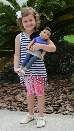 matching doll and me outfits | little girl fashion | American Girl Doll Outfits | MomTrends.com