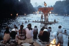 from Time of the Gypsies, scene of the river ceremony