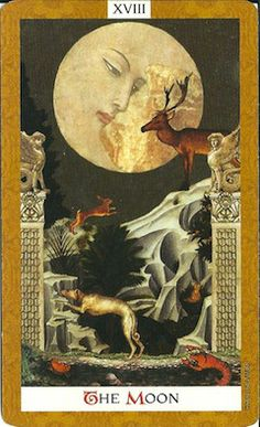 The Moon... Come by AttractionTarot.com for a Tarot reading and to read my blog on spirituality, Law of Attraction and Witchery.