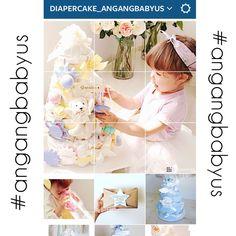 Follow us on Instagram !! #angangbabyus @diapercake_angangbabyus