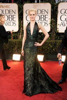 Evan Rachael Wood at the 2012 Golden Globes. Beautiful dress.