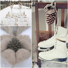 I've always loved the idea of a winter wedding...it's just not done enough!