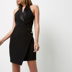 Nail your style with our new collection of women's dresses in River Island. Tall Dresses, Formal Dresses, Dresses Dresses, Tux Dress, Tuxedo Suit, Wrap Dress, Bodycon Dress, Clothes For Women, Womens Fashion