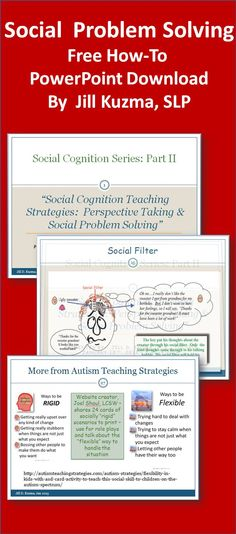 Jill Kuzma has posted a great PowerPoint on social cognition