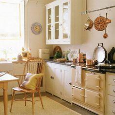 Classic cream country kitchen