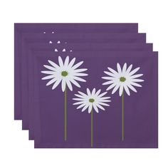 Daisies Print Table Top Placemat