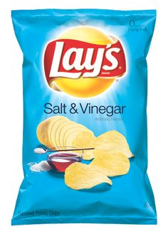 Lays Salt and Vinegar Chips - I craved these daily when I was pregnant with my son. Now that he is 6, we both can sit down and eat a whole bag in one sitting. : )