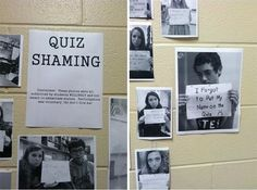 Quiz shaming for students who forget to put their name on the quiz. I think I can see some students twice, ha ha! High School Football Player, Teacher Jokes, 5th Grade Classroom, Teaching Career, True Nature, High School Students, Funny Jokes, Humor, Learning