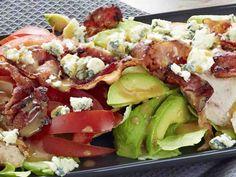 Cobbin salaatti Salad Recipes, Healthy Recipes, Healthy Food, Food Challenge, Food Inspiration, Cobb Salad, Potato Salad, Dinner Recipes, Dinner Ideas