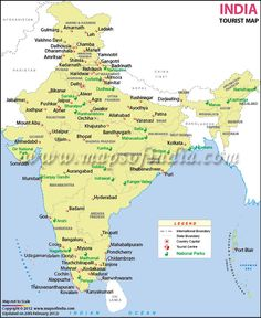 Travelling is easier with a guide, a  map and obviously, an awesome companion ;)  http://travel.mapsofindia.com/destination-guides/