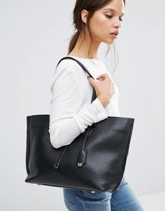 Image 3 ofWhistles Regent Leather Tote Bag