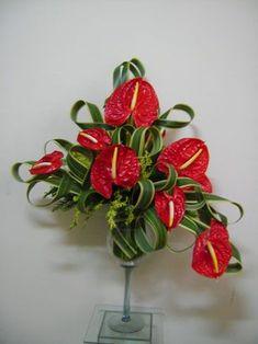 Resultado de imagen para arranjos florais com anturios