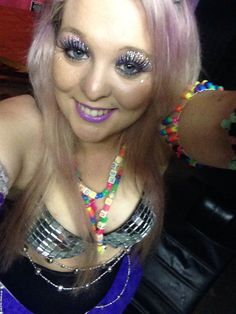 Sexy rave girl