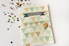Reisetagebuch+Pastell+Vintage+A6+von+bär+von+pappe+auf+DaWanda.com